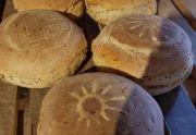 Chleb pszenno-żytni na zakwasie z Pomocnego