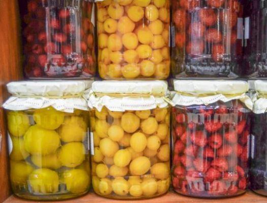 Przetwory owocowo-warzywne