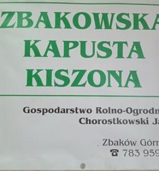 Zbakowska Kapusta Kiszona