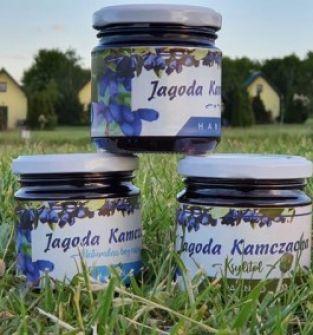 Jagoda Kamczacka z niską zawartością cukru