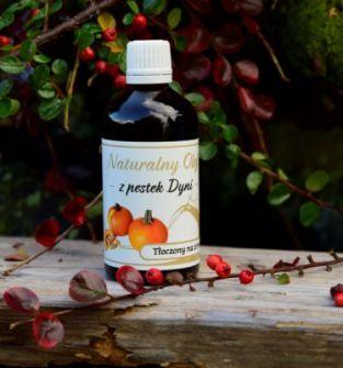 Naturalny Olej z Pestek Dyni 100 ml
