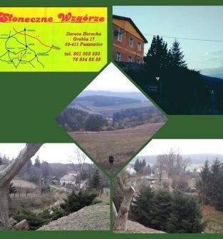 Pokoje w agroturystyce Słoneczne Wzgórze