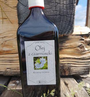 Olej z czarnuszki siewnej 500 ml