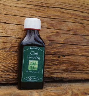 Olej z ziaren konopii 100 ml