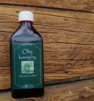 Olej z ziaren konopii 250 ml