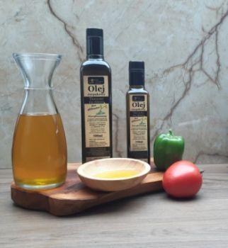 Olej rzepakowy, tłoczony na zimno 500ml, bez glifosatu!
