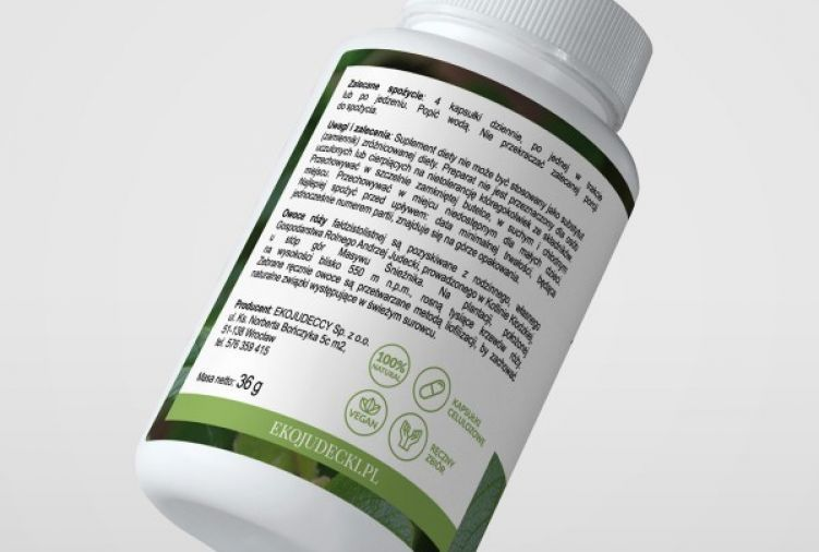 BioRóża Judecki 100 % liofilizat z owoców róży ziemi kłodzkiej z wysoką zawartością naturalnej witaminy C